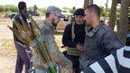 Fierce battle for key Syrian town