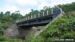 Bridge crossing in the Philippines completed by Cleveland Bridge