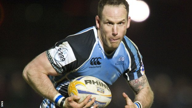 Glasgow Warriors centre Graeme Morrison
