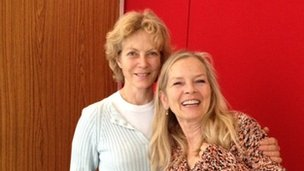 Jennie Seagrove and Jo Good
