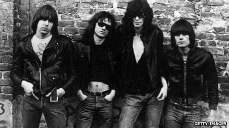 The Ramones in 1976