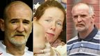 Mick Philpott, Mairead Philpott and Paul Mosley