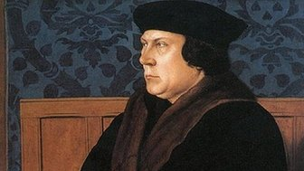 Thomas Cromwell, Earl of Essex, painted by Hans Holbein the Younger