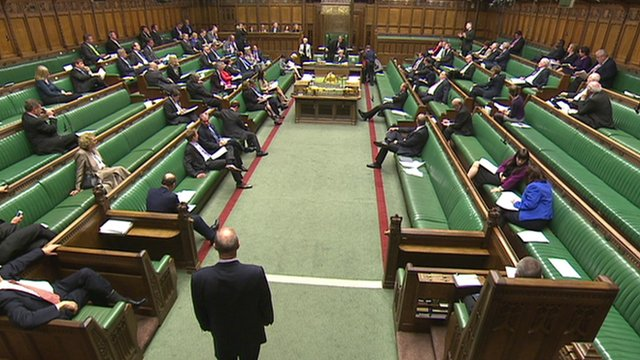 MPs in Commons