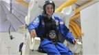 15 year-old Abby Harrison training to be an astronaut