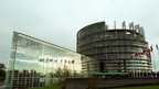 European Parliament building in Strasbourg - archive photo
