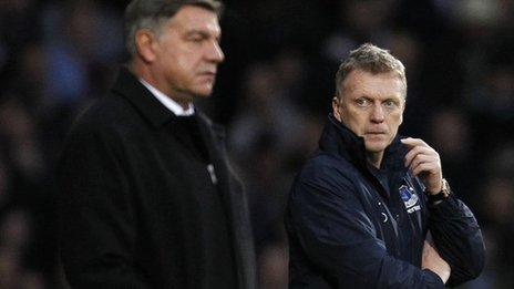 Sam Allardyce and David Moyes