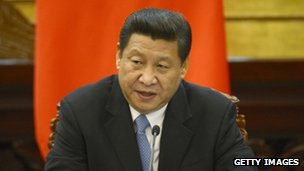 Chinese President Xi Jinping (file image from 25 April 2013)