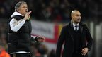 Real Madrid head coach Jose Mourinho and Barcelona head coach