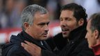 Jose Mourinho and Diego Simeone