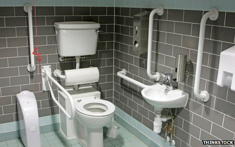 Disabled toilets what is a radar key bbc news for Bathroom ideas elderly