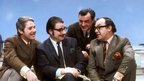 (Left to right) Eric Morecambe, Eddie Braben, John Ammonds, and Ernie Wise in 1970