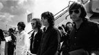 The Doors with Jim Morrison at Heathrow Airport 1968