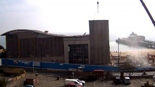 Imax cinema being demolished