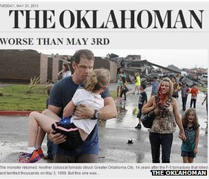 Screen grab from Oklahoman.com
