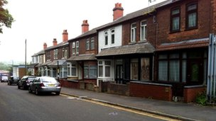 Houses in Common Lane, Washwood Heath