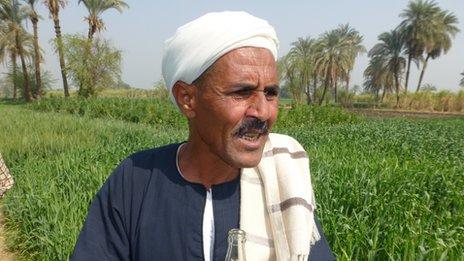 Farmer Karam Hussein