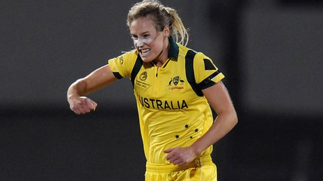 Australian cricketer Ellyse Perry