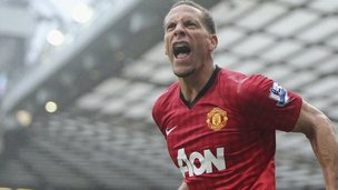 Rio Ferdinand of Manchester United
