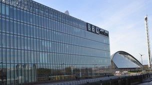 BBC Scotland at Pacific Quay in Glasgow