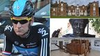Bradley Wiggins, Christchurch Mansion, Thomas Wolsey statue, Saatchi exhibition