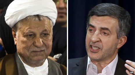 Key pair barred from Iran election...