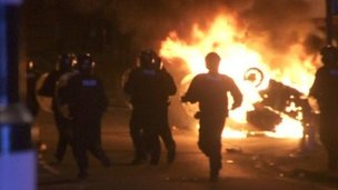 Riots in 2011