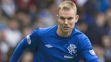Rangers defender Andy Mitchell