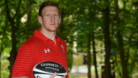 Bradley Davies will captain Wales on their tour of Japan in June 2013