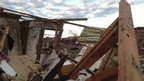Francisco's destroyed house in Moore