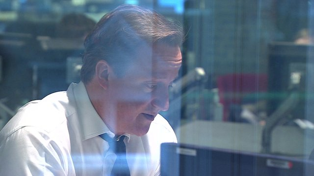 David Cameron on the BBC's Today programme