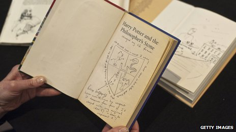 Illustrated and annotated Harry Potter book