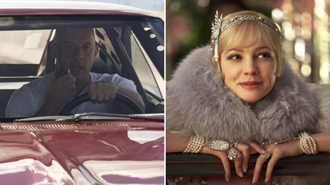 Fast and Furious beats Great Gatsby...