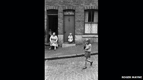 Family in St Ann's in 1969