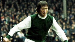 Former Hibs full-back John Brownlie