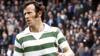 Former Celtic winger Bobby Lennox