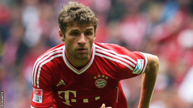 Thomas Muller of Bayern Munich