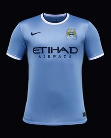 Manchester City in multi-million pound Nike kit deal