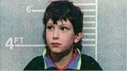 Police handout in 1993 of Jon Venables