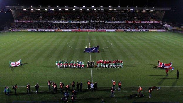 Windsor Park hosts Northern Ireland internationals