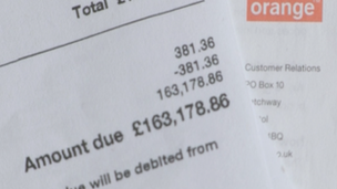 Couple's £163,000 mobile phone bill shock