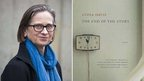 Lydia Davis and the cover of her 1995 novel The End of the Story