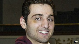 Archive photo of Tamerlan Tsarnaev in 2010