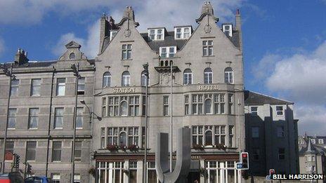 Station Hotel in Aberdeen