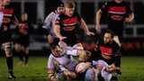 Newcastle and Bedford in the RFU Championship
