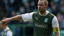 Hibernian captain James McPake