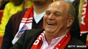 Uli Hoeness, the President of Bayern Munich