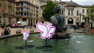 Floozie In The Jacuzzi and butterflies
