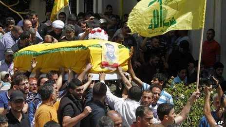Kerry condemns Hezbollah over Syria...