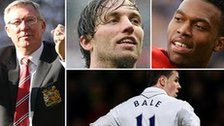 Sir Alex Ferguson, Michu, Daniel Sturridge, Gareth Bale